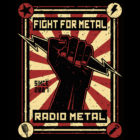 "<span class=""collec"">RM original </span><span class=""modele"">Fight for Metal </span>T-shirt unisexe"
