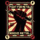 "<span class=""collec"">RM original </span><span class=""modele"">Fight for metal </span>Veste unisexe"