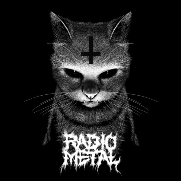 Satanic cat branded by Radio Metal
