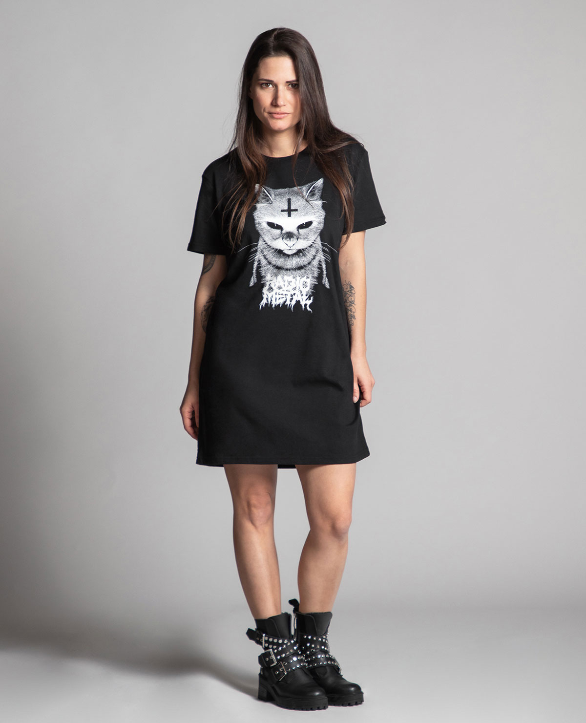 Satanimals Cat Dress Radio Metal Shop