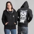 Veste-sherpa-unisexe-satanimals-chat-satanique