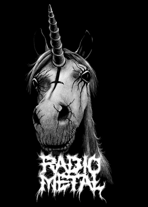 Visuel Licorne Satanique Satanimals Radio Metal