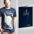 """<span class=""""collec""""> Radio metal ÉDITIONS</span><span class=""""modele""""> Official book / Handwing</span>Alcest: The Complete Collection (ENG) + T-shirt"""