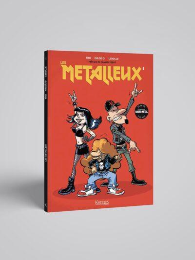 couverture de la BD les Metalleux