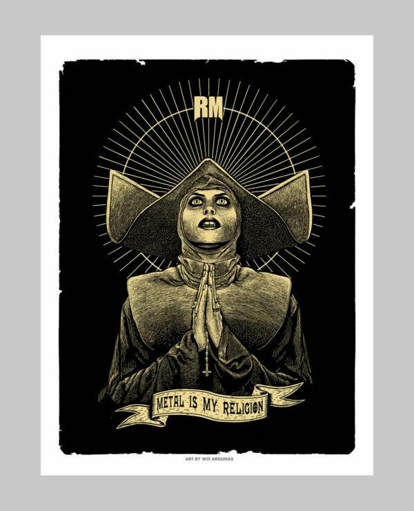 Poster d'une Nonne
