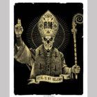 poster d'un pape metal