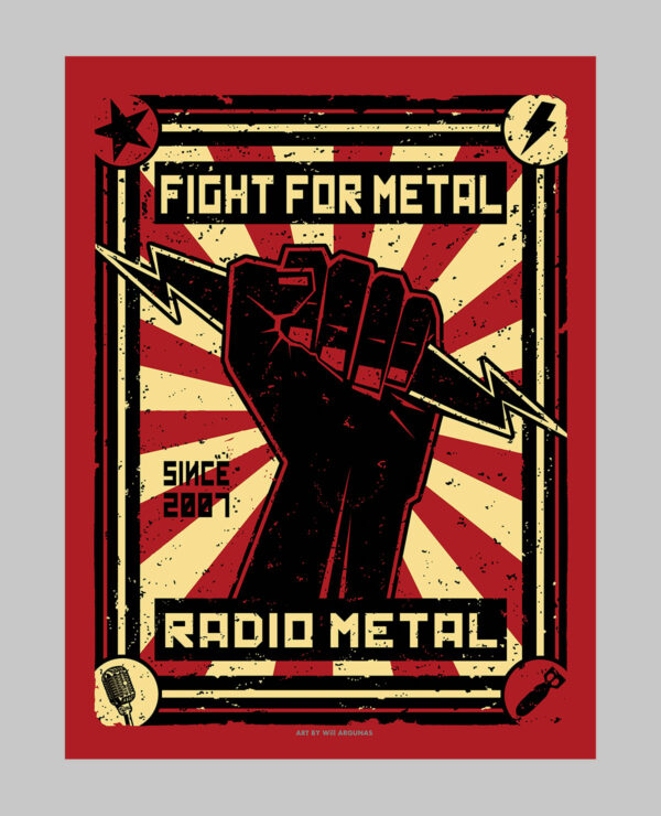 Poster Revolution metal