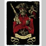 Poster d'un pirate metal